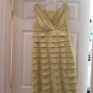 Pale Green Cocktail Dress
